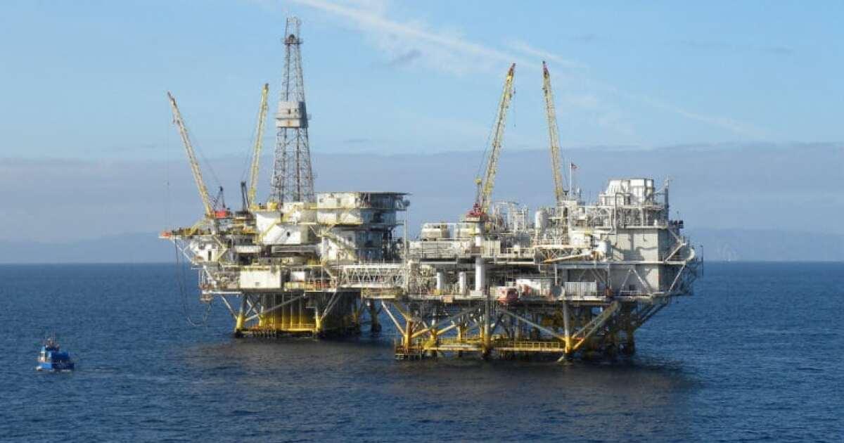 Oil Platform BSEE.'