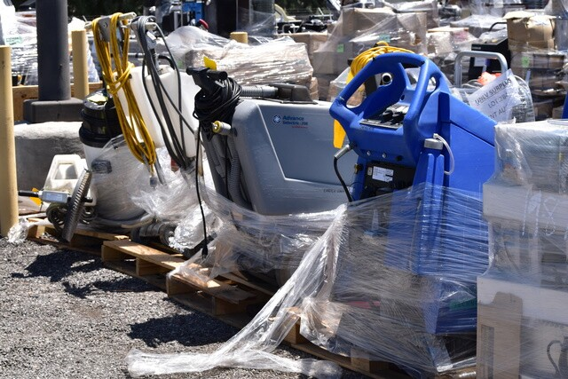 PHOTOS: Items for sale at the government surplus auction   Spring 2018