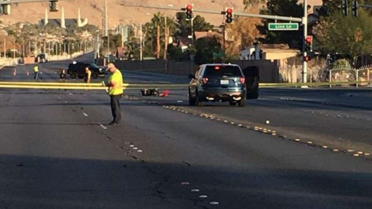 Scooter rider killed in crash on Tuesday