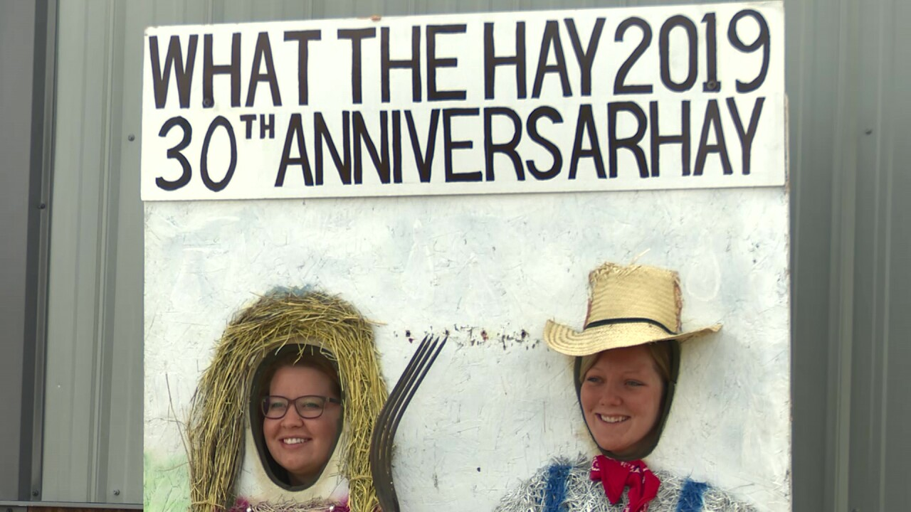 "Creative designs highlight annual ""What The Hay"" event"