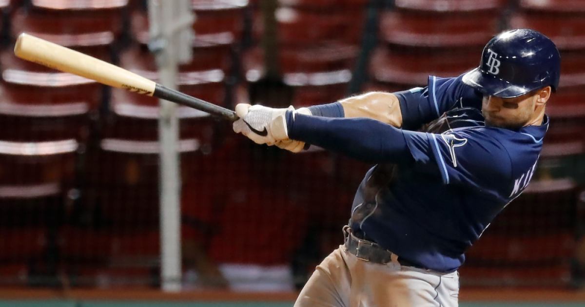 Kevin Kiermaier leads hit parade as Rays beat Red Sox 8-7