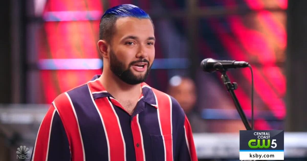 "Santa Barbara man appears for another round of ""The Voice"""