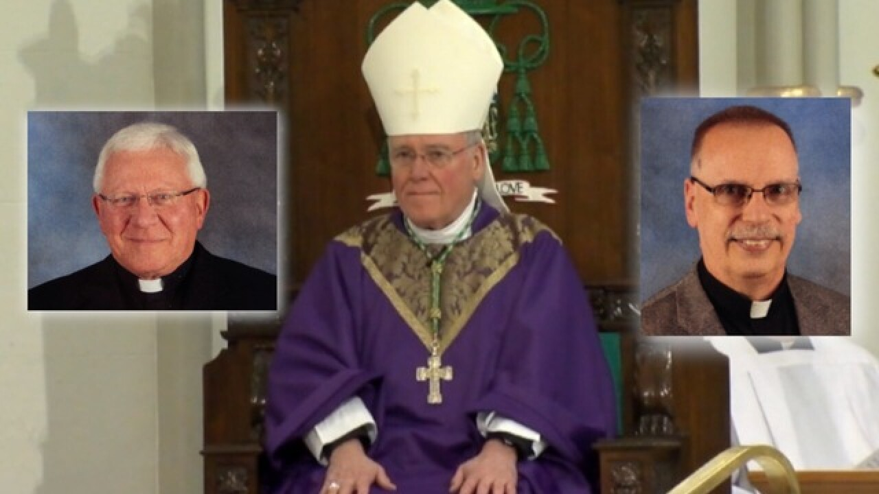 I-Team: Bishop Malone left two more accused priests in ministry despite allegations