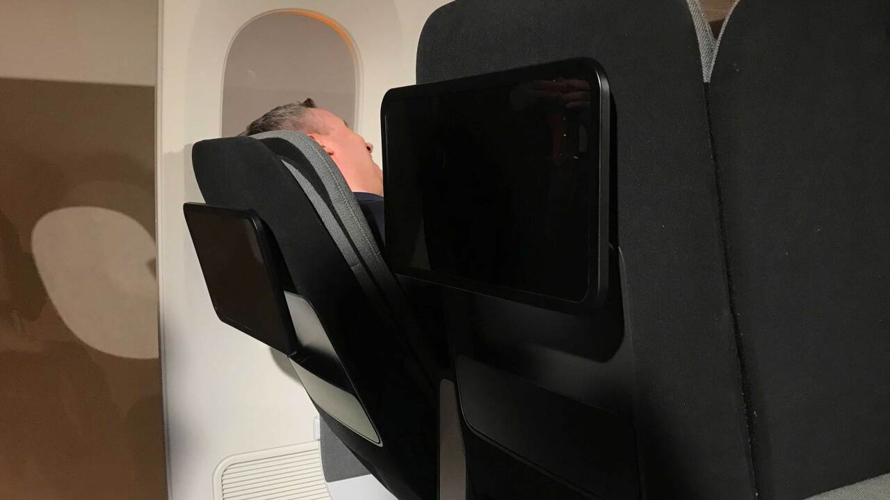 Designers say these new airplane seats will make it easier to sleep in economy
