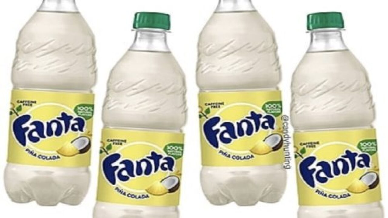 Piña Colada Fanta Is Hitting Store Shelves Soon