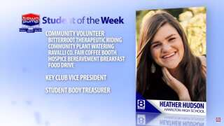 Student of the Week: Heather Hudson