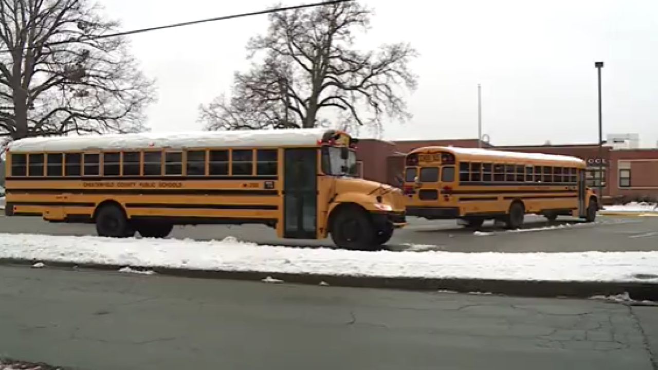 Chesterfield students return to school