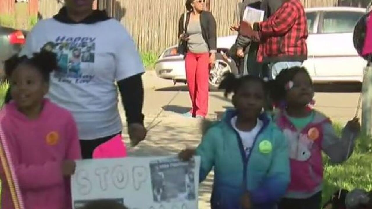 March planned for girl killed by stray bullet