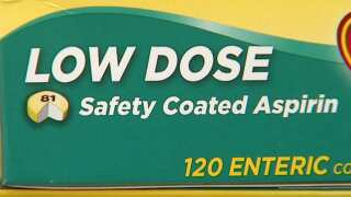 Your Healthy Family: Daily aspirin for heart disease prevention NOT recommended for most