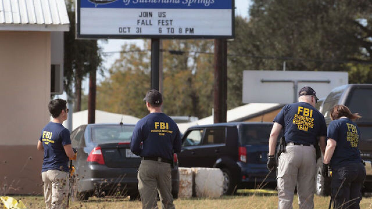 Texas church gunman killed his wife's grandmother, friends say