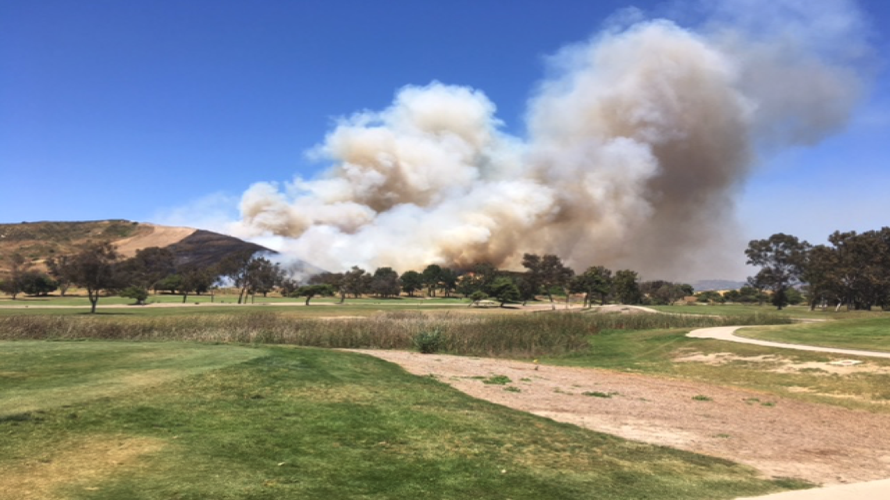Oceanside Fire Update >> Arrest Made In 85 Acre Camp Pendleton Fire