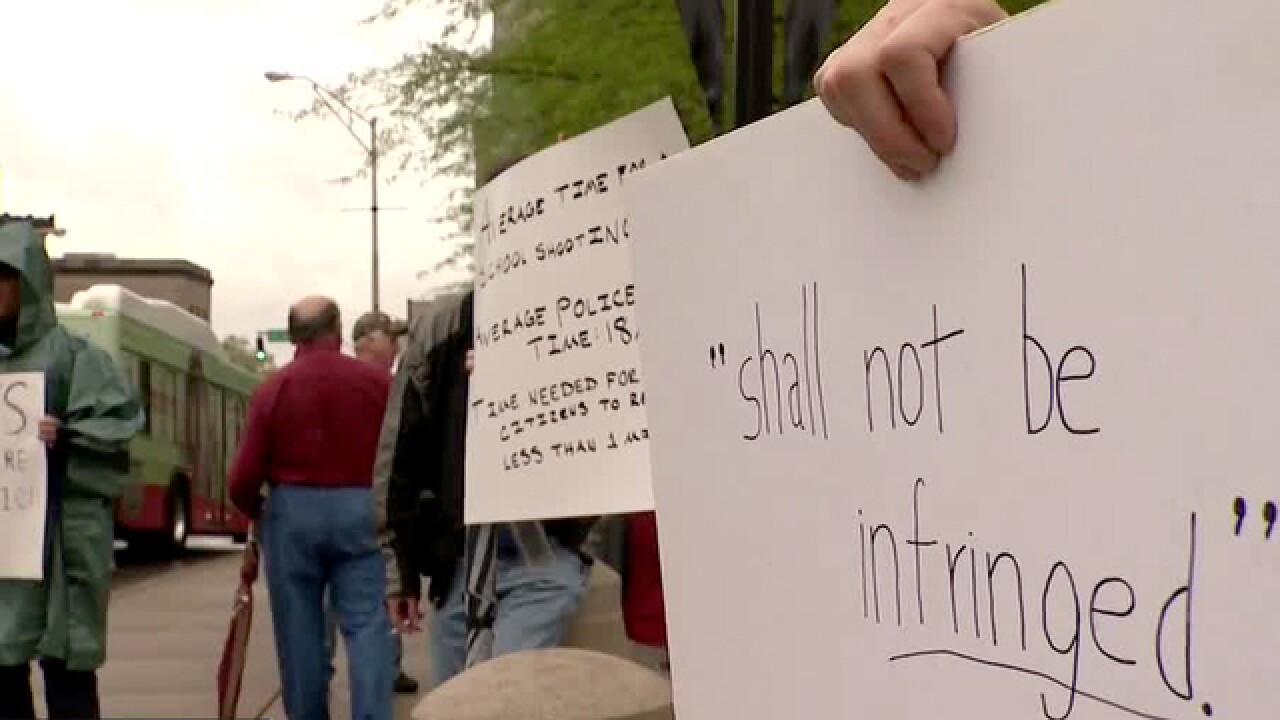 Second Amendment Rally Held In Nashville