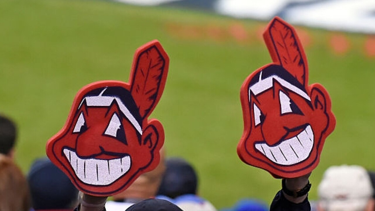 14910fdf8 Chief Wahoo protest will go on despite removal from jerseys