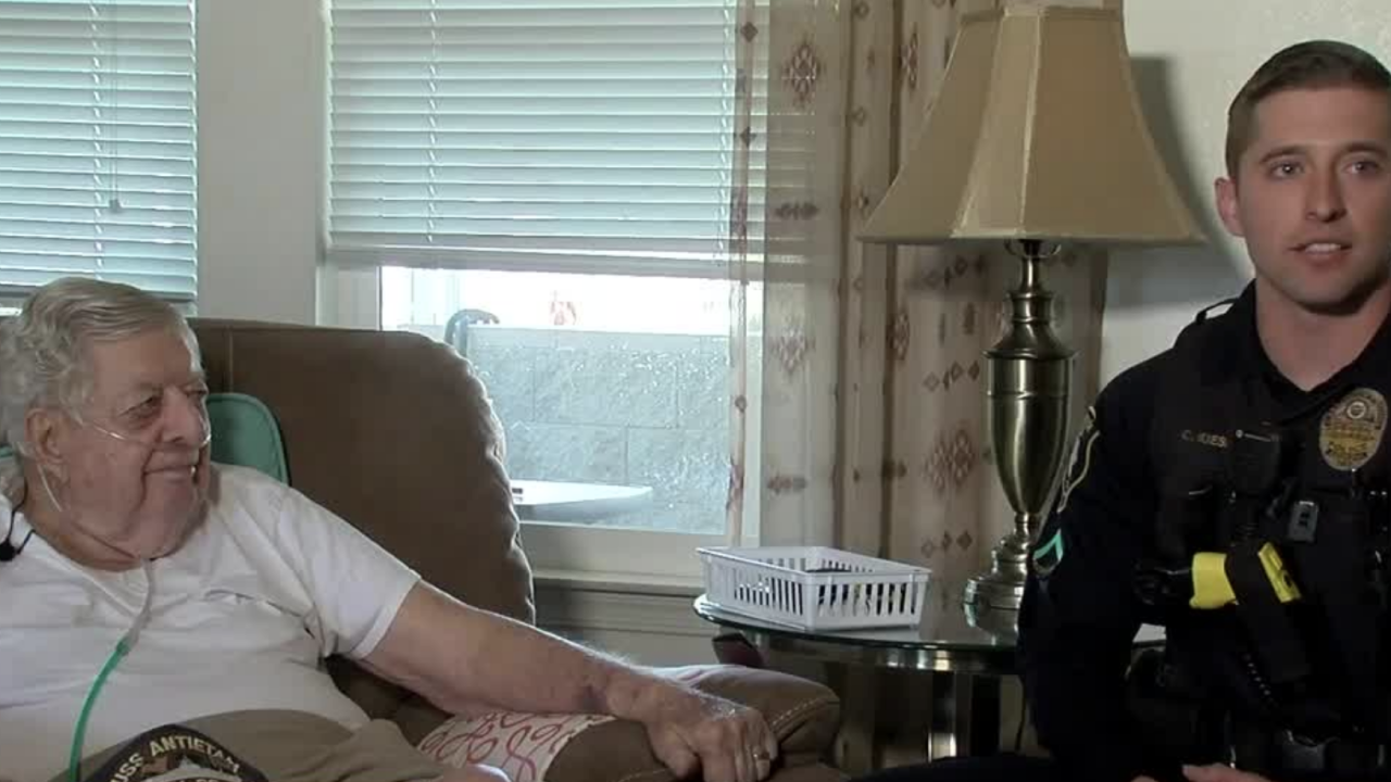 Casa Grande officer saves man's life