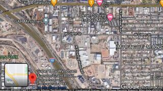 According to a Union Pacific spokesman, the wreck happened at 4:33 a.m. An eastbound train hit a male pedestrian south of Miracle Mile and Interstate 10 near West Grant Road.