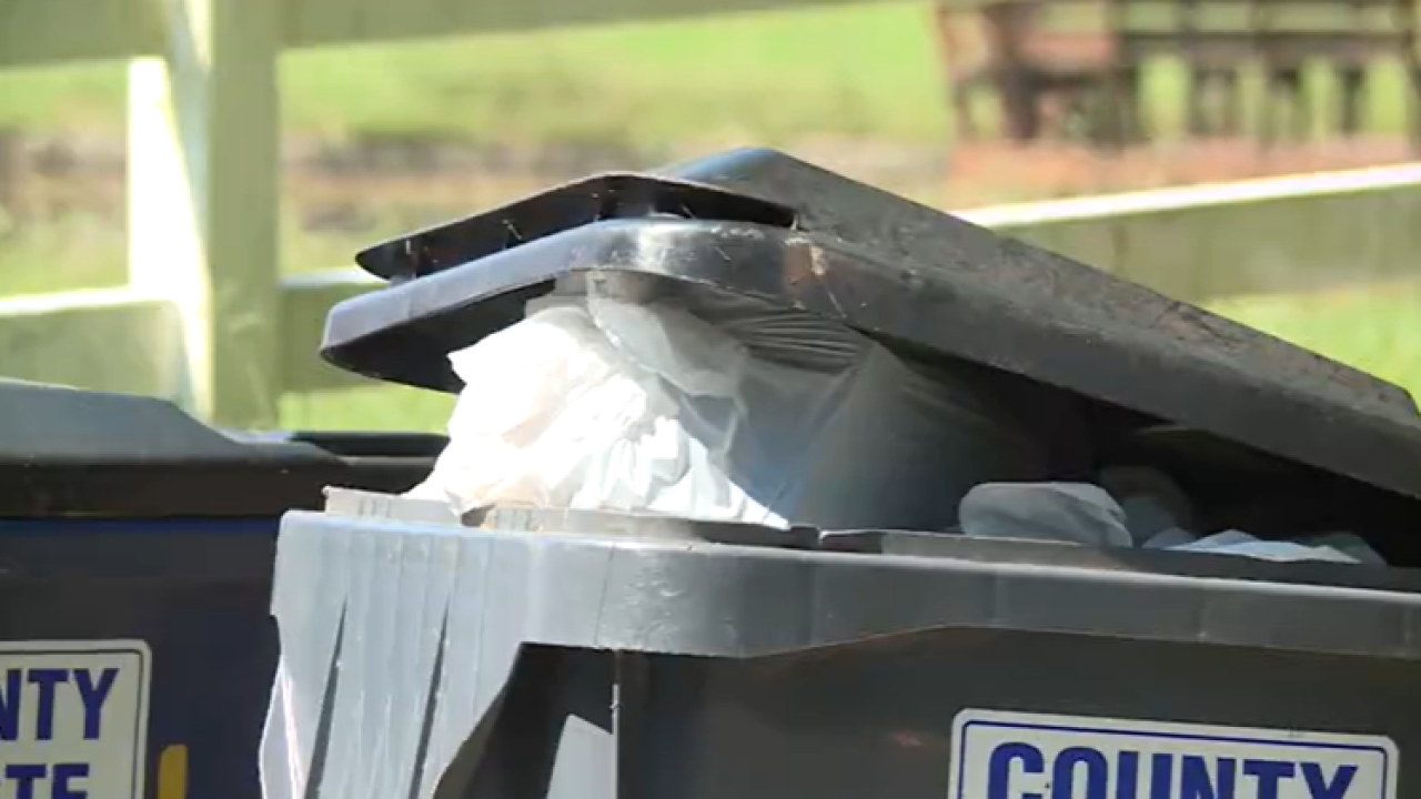Delayed trash pickup leaving customers with smelly problem