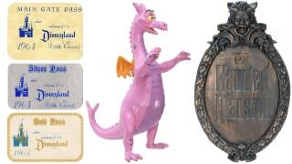 Disney auction items