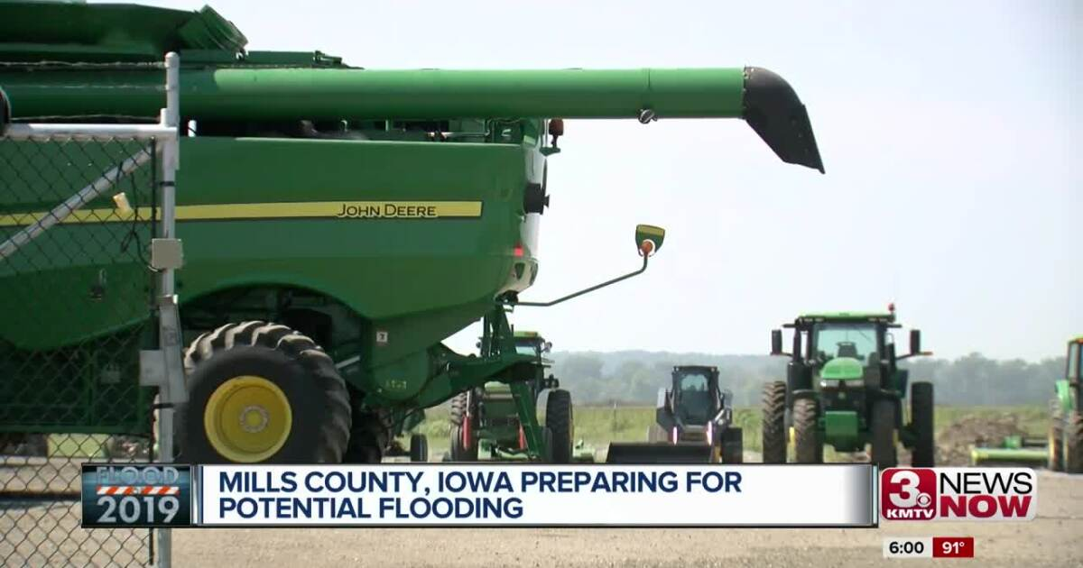 Mills County, Iowa prepares for potential flooding