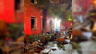 8 injured in East Village apartment fire
