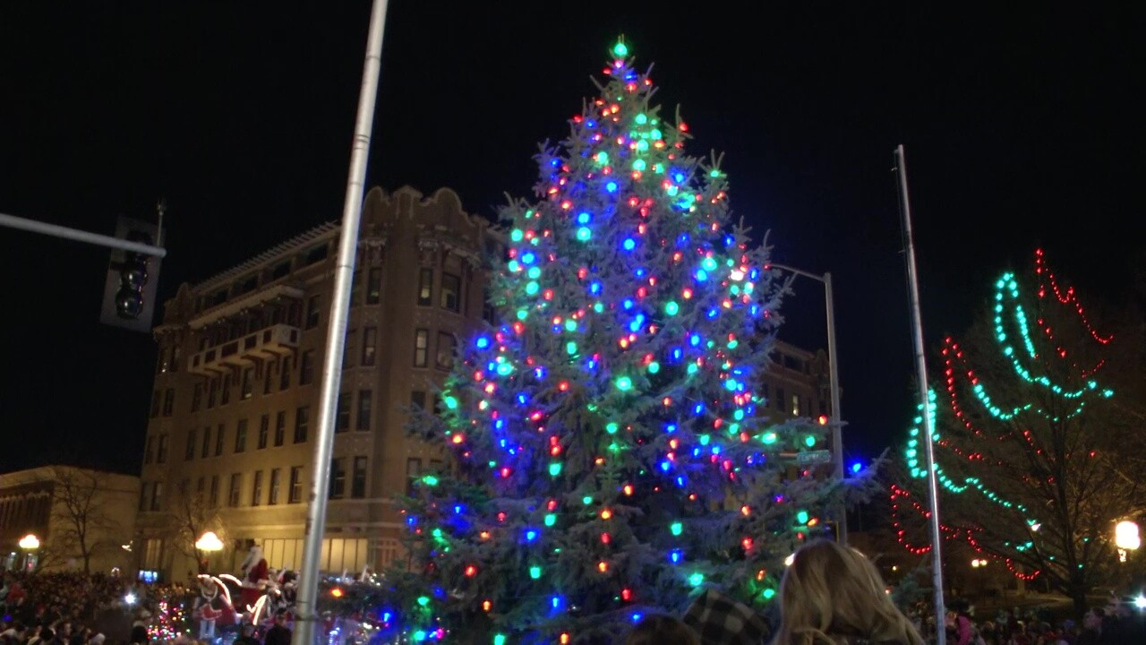 2018 Parade of Lights in downtown Great Falls