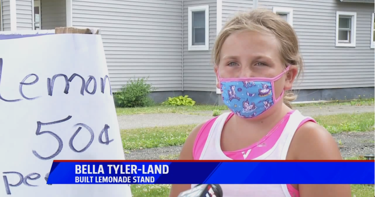 Image of article 'Girl builds lemonade stand to help others in Otsego'