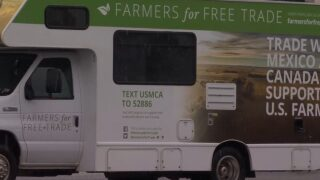 """Montana Ag Network: """"Farmers for Free Trade"""" RV tour makes stop in Montana"""