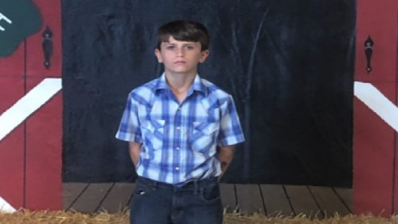 This Seventh-grader Donated The $15,000 He Earned At The County Fair To St. Jude Children's Hospital