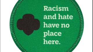 Girl Scouts Anti-Racism Patch