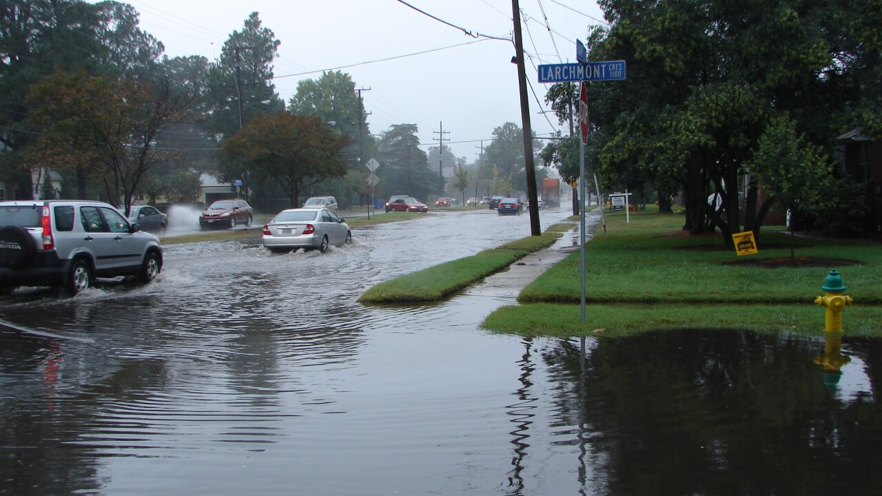 'It's more than just about the road' Flooding issues threatening local cities and Navalbases