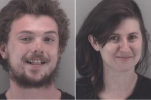 Dometrius Holden, 23, of Winston-Salem, North Carolina and Gabrielle Heinlein, 27,  of Pembroke, Virginia