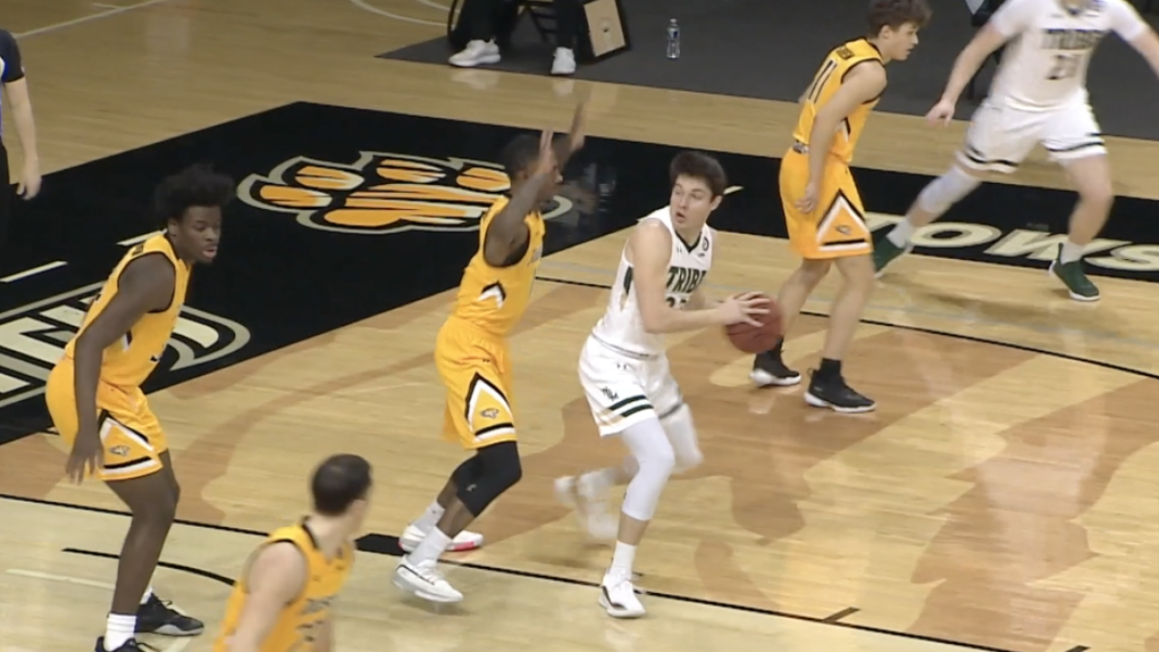 William & Mary basketball's Connor Kochera