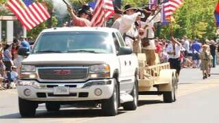 Parades and fireworks on Independence Day