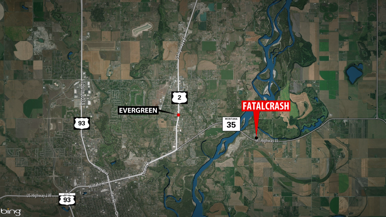 July 4th Hwy 35 Double Fatal Accident Map