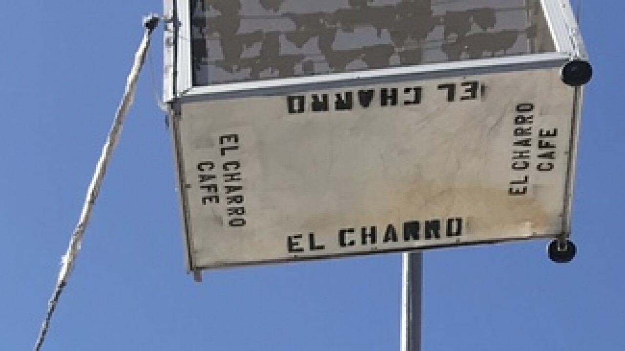 Birth place of chimichanga a Tucson staple