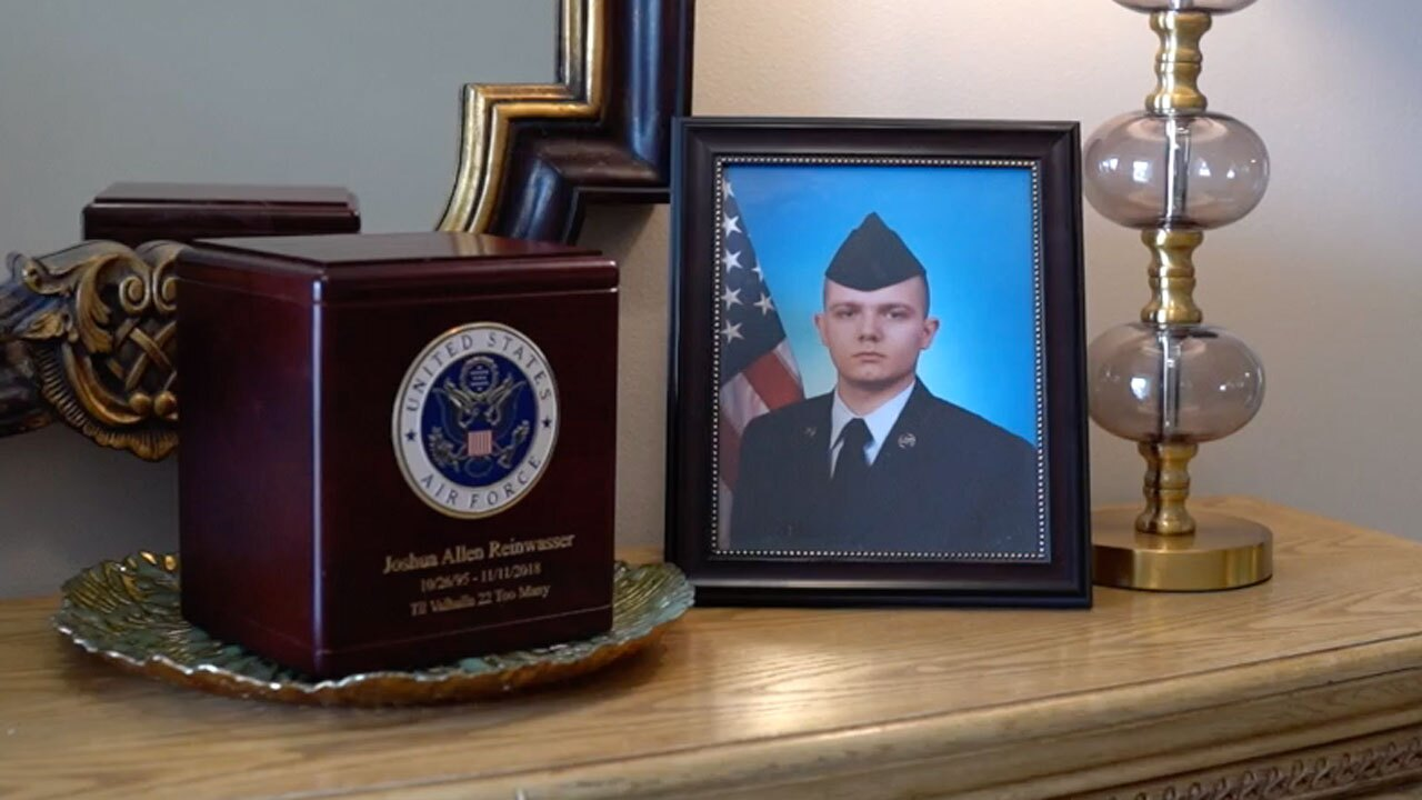 Air Force Senior Airman Joshua Allen Reinwasser, died serving in the Air Force