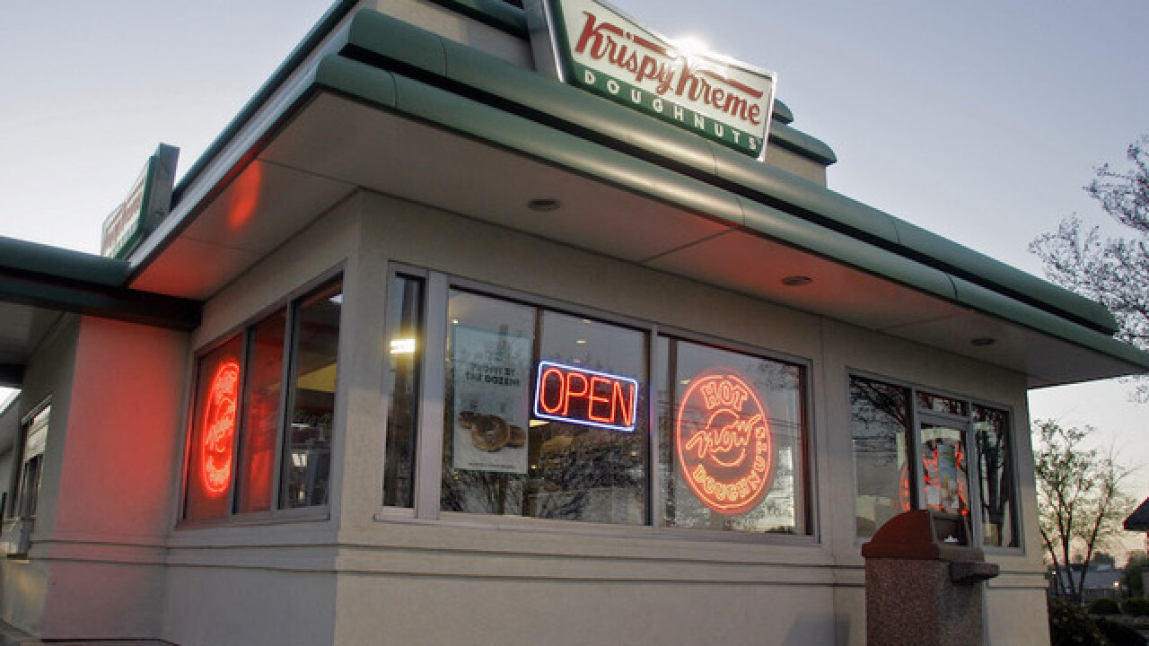Krispy Kreme sued by man angered they don't use real fruit, maple syrup in doughnuts