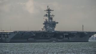 USS Theodore Roosevelt redelivered to the Navy