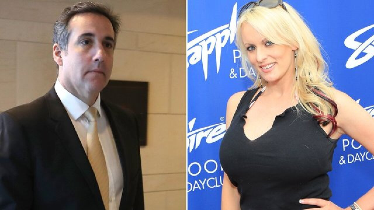 Stormy Daniels sues Trump lawyer Michael Cohen for defamation