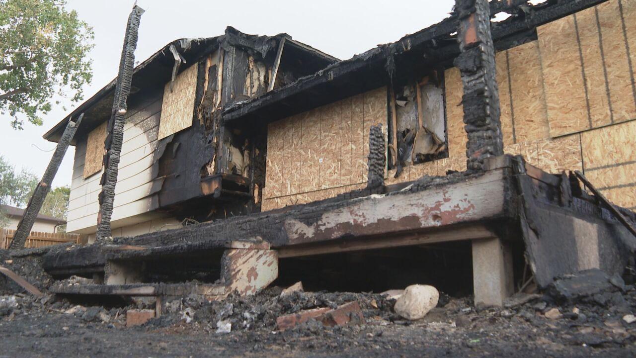 Pueblo home fire burned on October 5