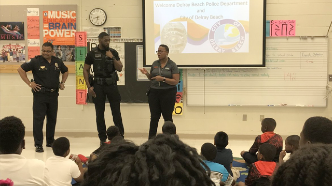 Delray Beach PD partners with Village Academy to work with students