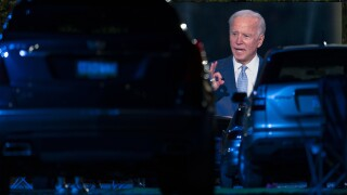 Biden says he wouldn't make schools require COVID-19 vaccine