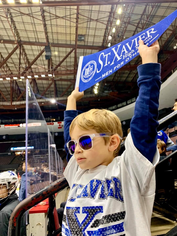 Cameron cheering on St. X.jpg