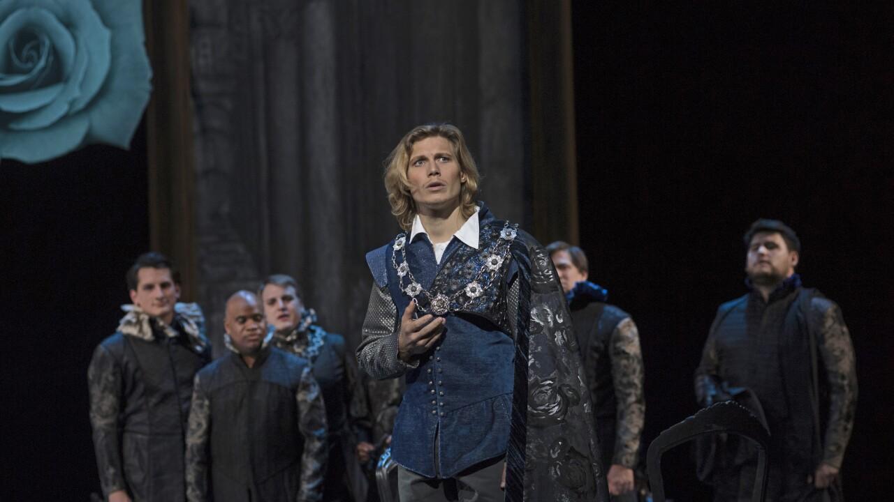 Matthew White as Cincinnati Opera Romeo