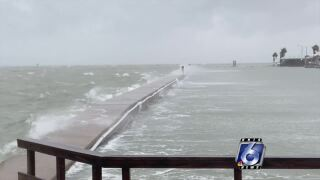 Beta causing flooding along Intercoastal Waterway