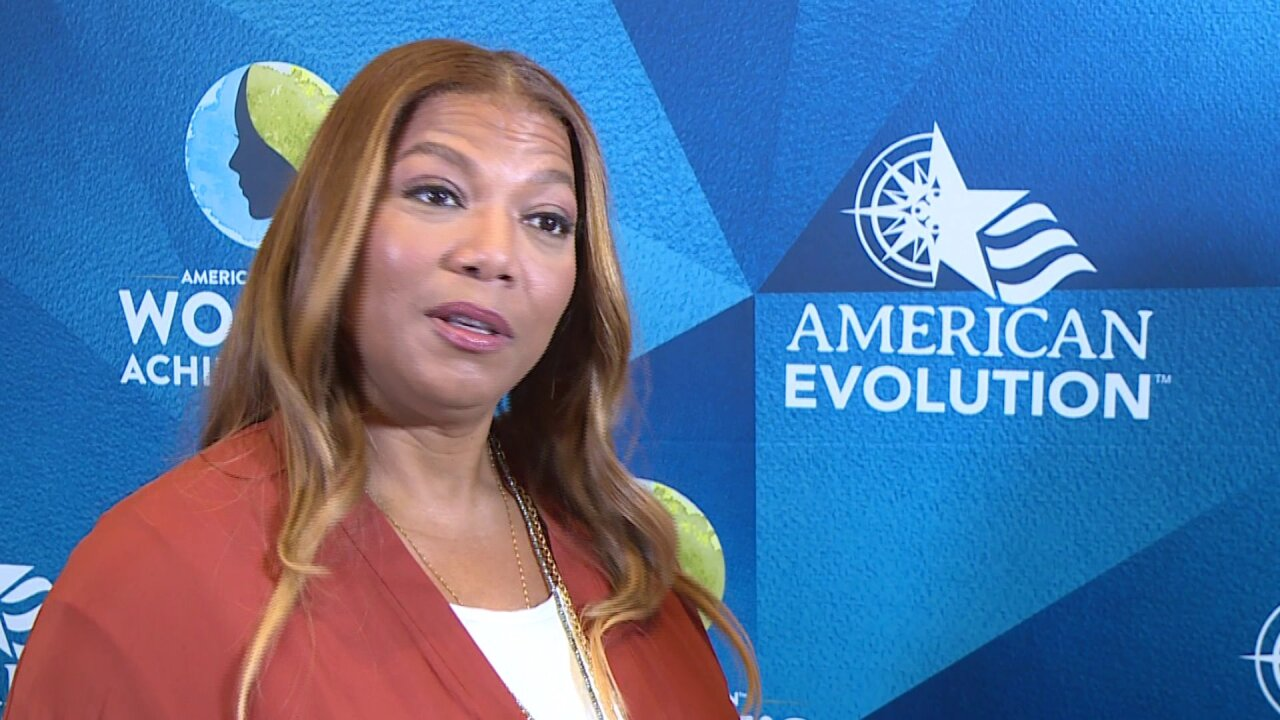 Queen Latifah empowers women at Richmond summit