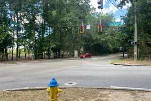 Paul Russell Road between Apalachee Pkwy and Monday Rd.