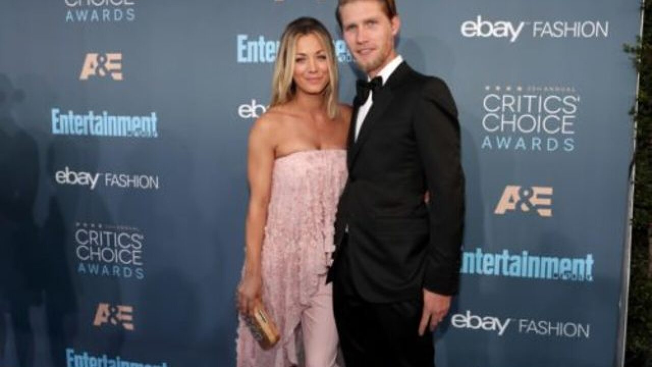 Kaley Cuoco marries fiancé Karl Cook at San Diego horse stable