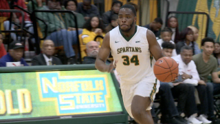 Norfolk State basketball's Steven Whitley