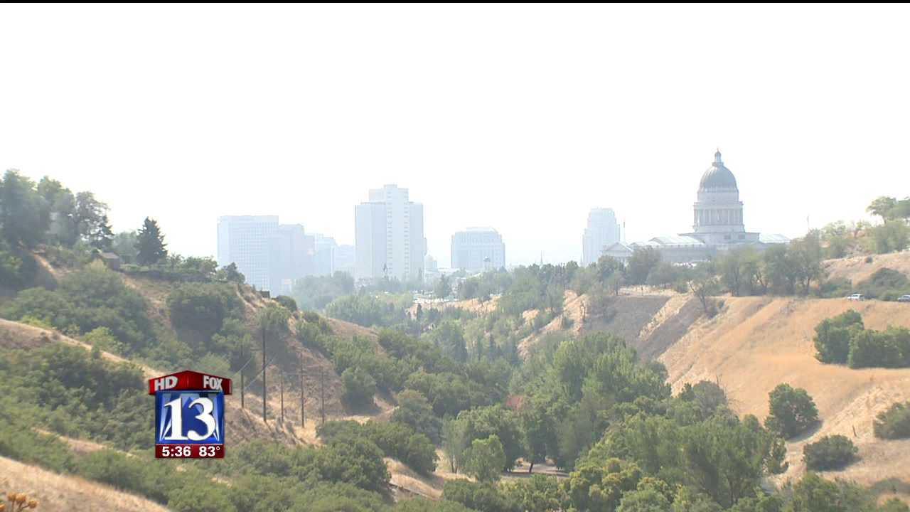 Red air quality warning issued for northern Utah