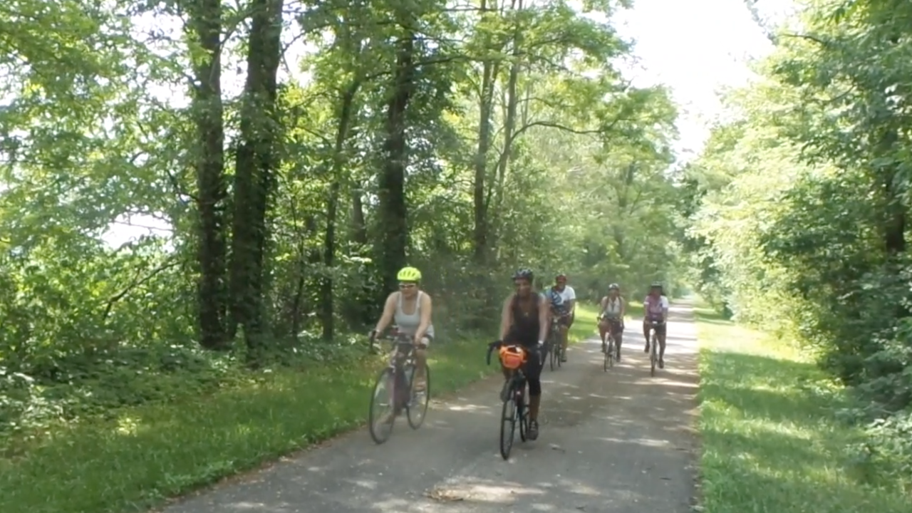 Local initiative teaches black American history through series of historical bike rides